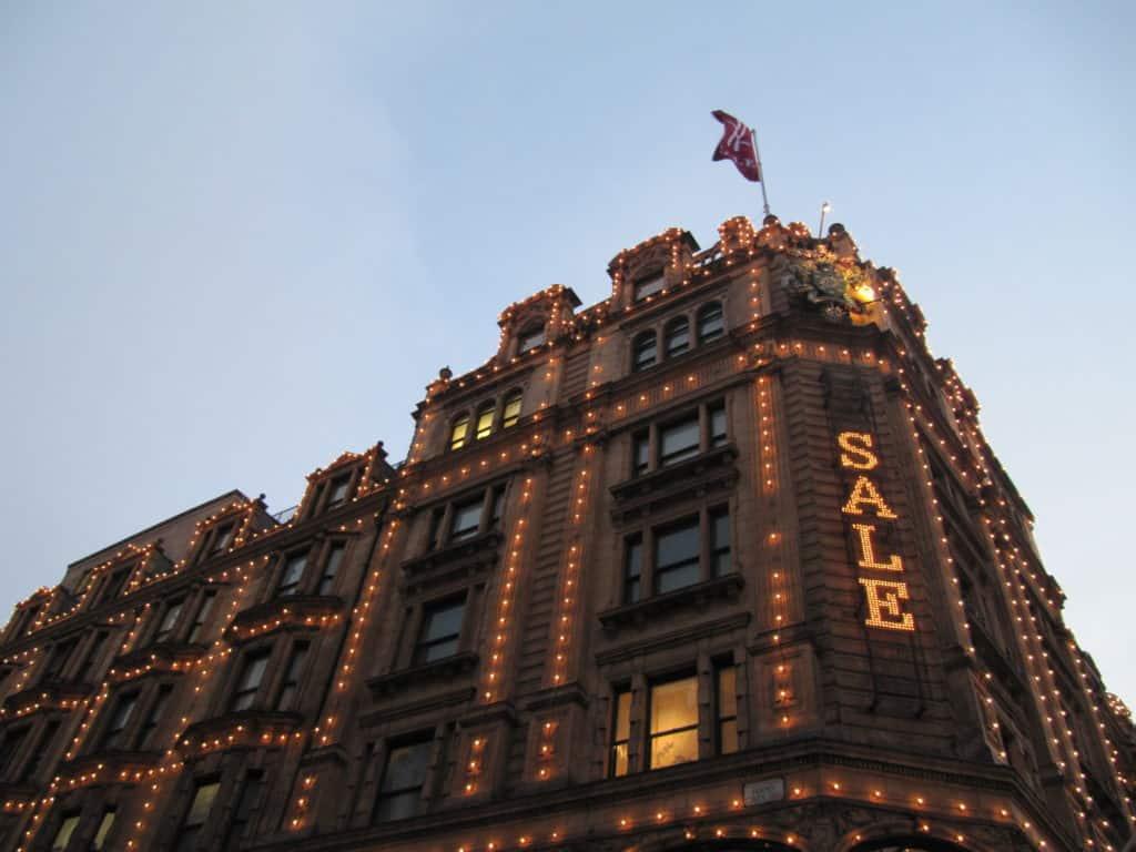 חנות הארודס בלונדון - מה לעשות בלונדון בחינם