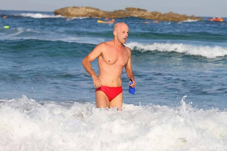 עודד רהב בים התיכון