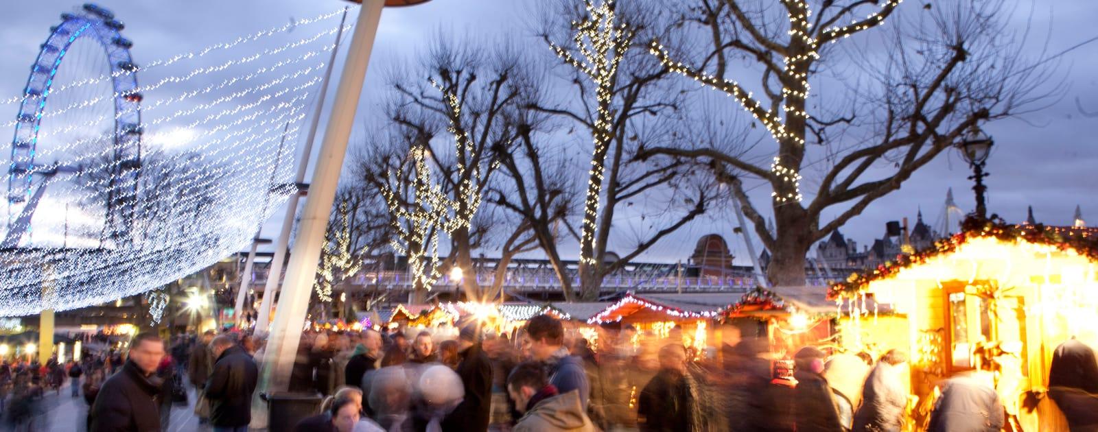 שווקי חג המולד - מה לעשות בלונדון בחורף?