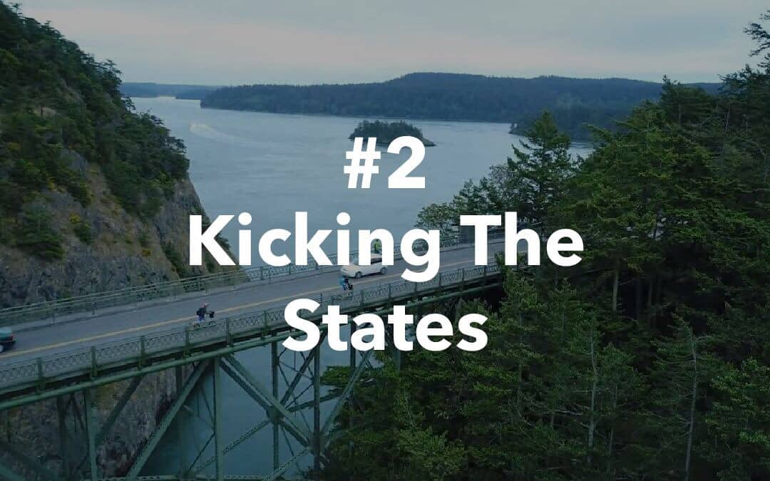 #2 – יצאנו לדרך לבעוט את אמריקה