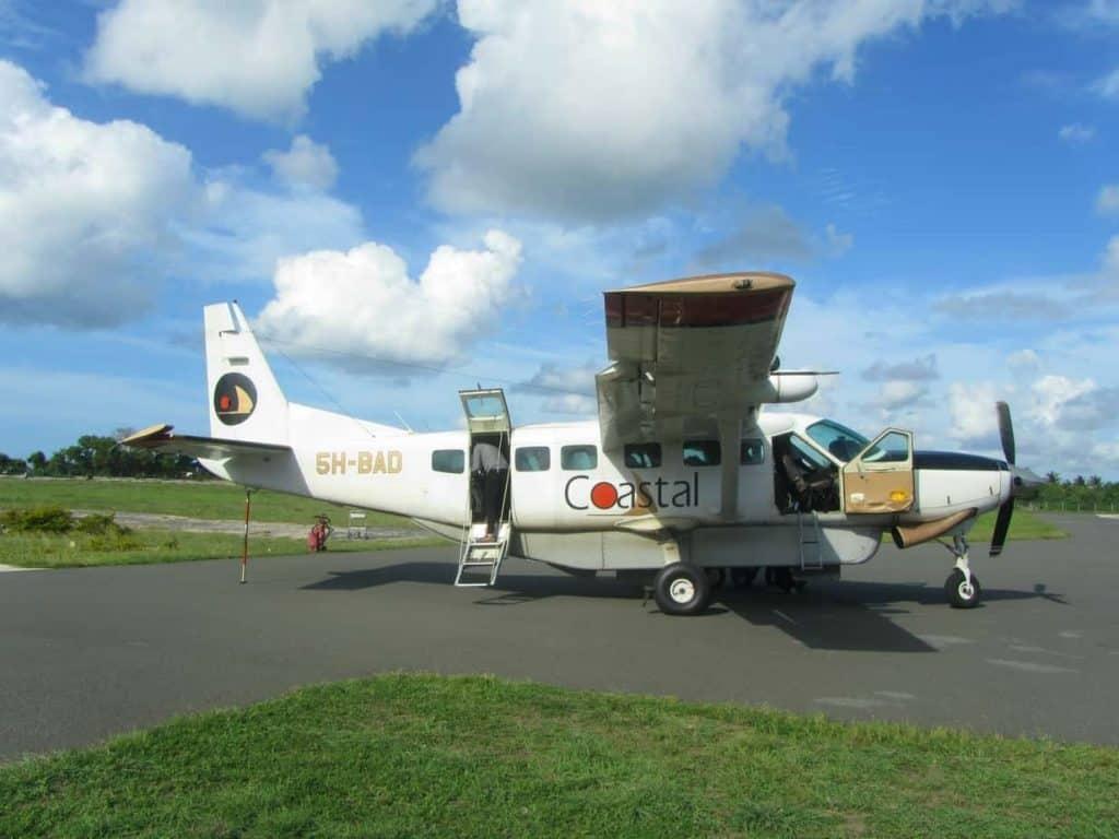טיסה מקומית - האי מאפיה