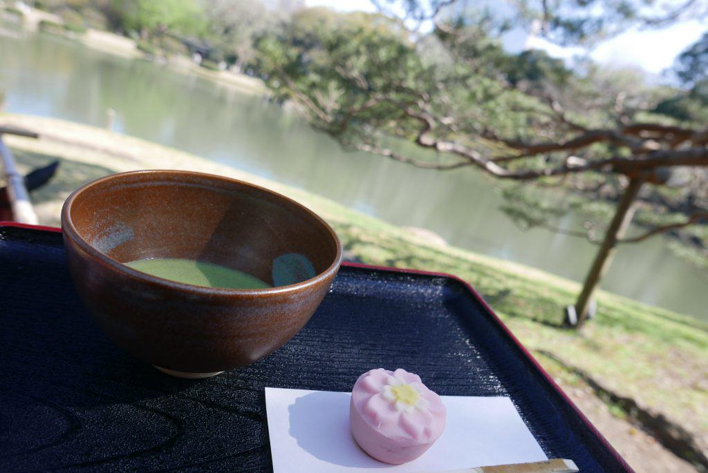 טקס תה ביפן גני ריקוגיין - Rikugien Gardens