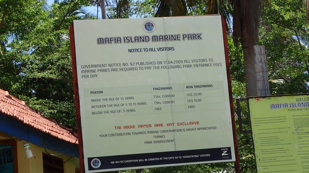 מחירי שמורת הטבע באי מאפיה