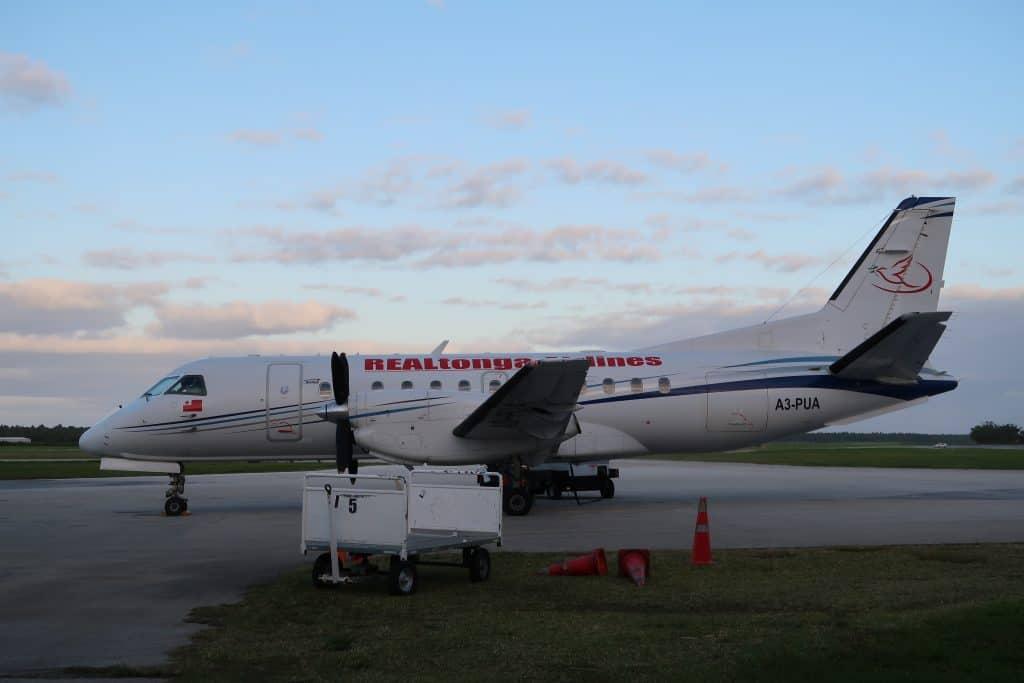 טיסות בין ממלכת איים באוקיינוס השקט - איי טונגה