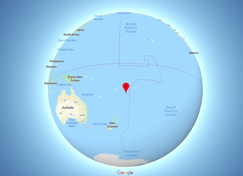 ממלכת איים באוקיינוס השקט