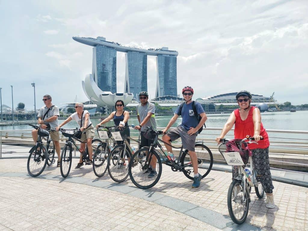 סיור אופניים סינגפור