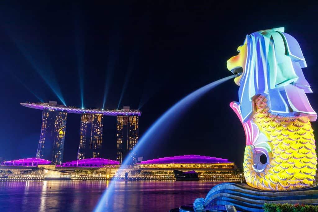 פארק מרלין במדינת סינגפור