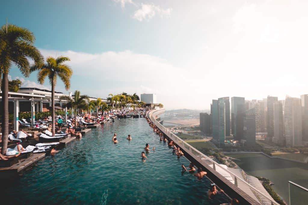 מלון מארינה סנדס בסינגפור