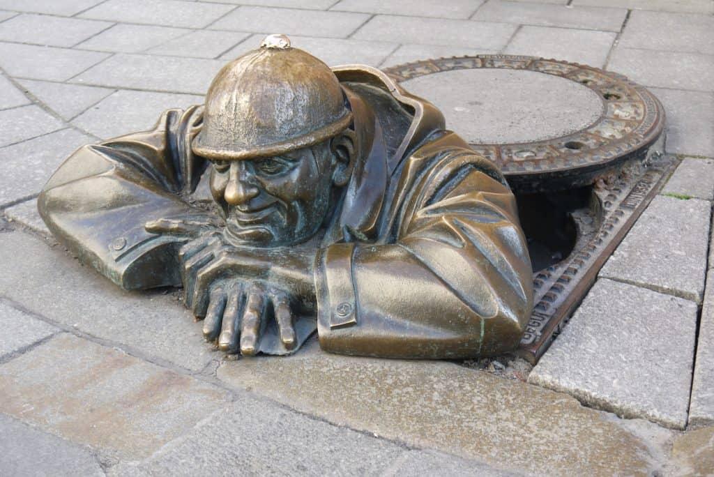 הפסל המפורסם של ברטיסלבה, יעדים בזול באירופה